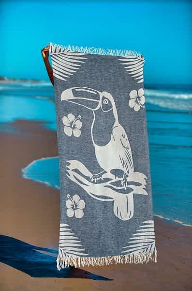 Πετσέτα Θαλάσσης Παρεό 90x1.85 βαμβακερή 100% Σ19