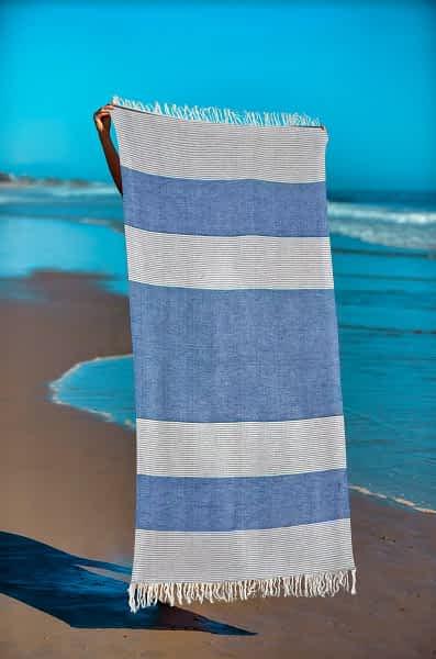 Πετσέτα Θαλάσσης Παρεό 90x1.85 βαμβακερή 100% Σ2