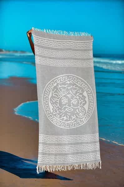 Πετσέτα Θαλάσσης Παρεό 90x1.85 βαμβακερή 100% Σ39
