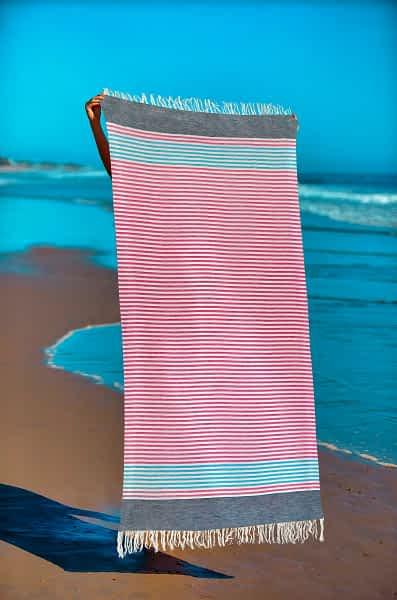 Πετσέτα Θαλάσσης Παρεό 90x1.85 βαμβακερή 100% Σ11