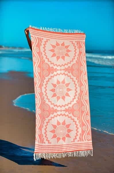 Πετσέτα Θαλάσσης Παρεό 90x1.85 βαμβακερή 100%  Σ41