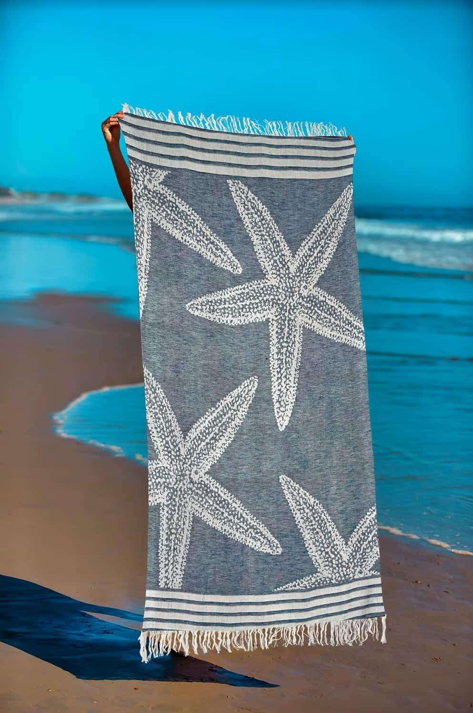 Πετσέτα Θαλάσσης Παρεό 90x1.85 βαμβακερή 100% Σ18
