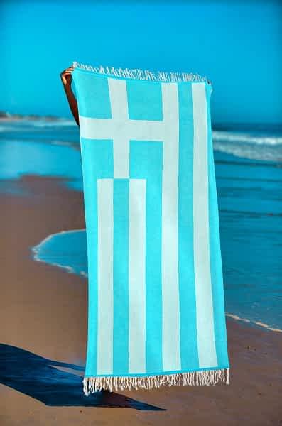 Πετσέτα Θαλάσσης Παρεό 90x1.85 βαμβακερή 100%  Σ40