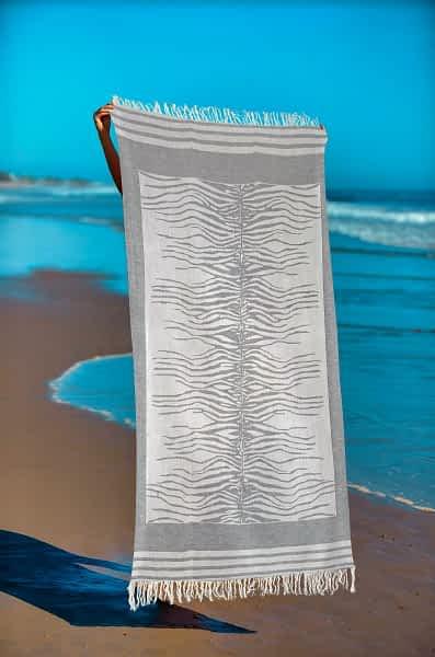 Πετσέτα Θαλάσσης Παρεό 90x1.85 βαμβακερή 100% Σ15