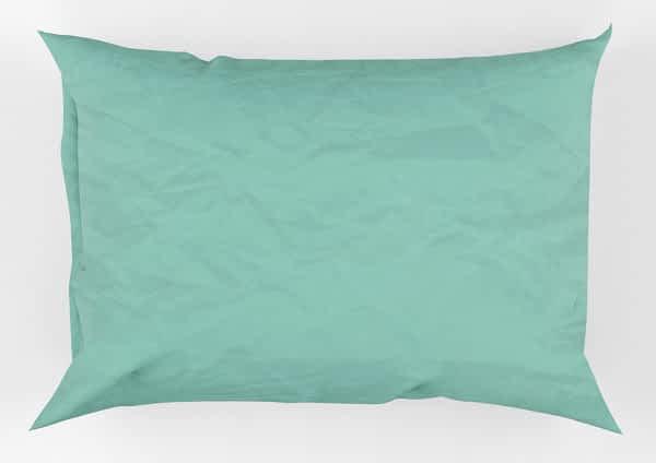 Μαξιλαροθήκη 50 Χ 70 + 0,17 βαμβακερή 100% μονόχρωμη Χ19