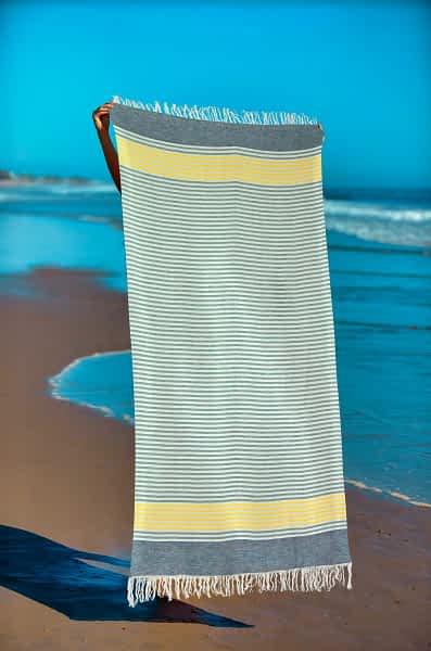 Πετσέτα Θαλάσσης Παρεό 90x1.85 βαμβακερή 100% Σ10