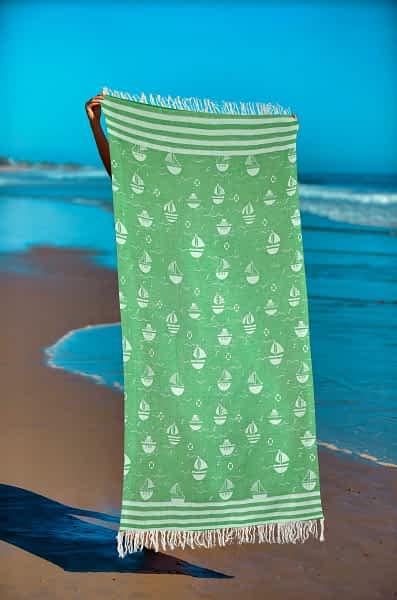 Πετσέτα Θαλάσσης Παρεό 90x1.85 βαμβακερή 100% Σ14