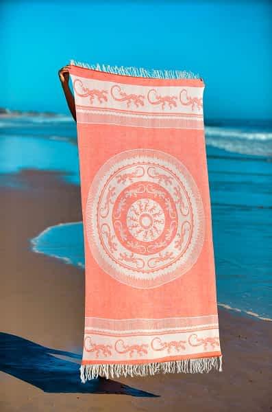 Πετσέτα Θαλάσσης Παρεό 90x1.85 βαμβακερή 100% Σ25