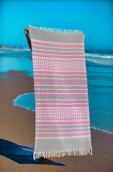 Πετσέτα Θαλάσσης Παρεό 90x1.85 βαμβακερή 100% Σ4