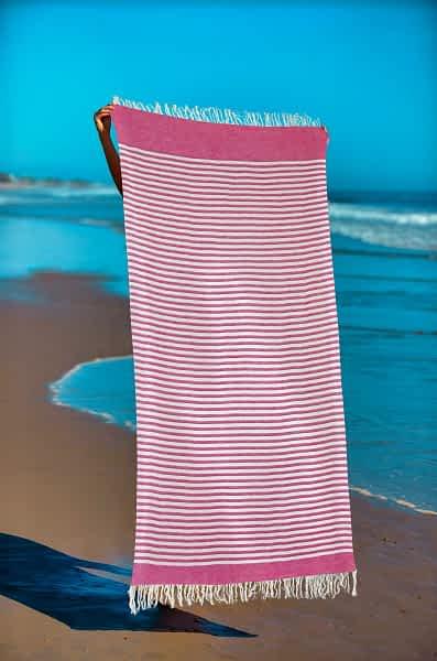 Πετσέτα Θαλάσσης Παρεό 90x1.85 βαμβακερή 100% Σ3